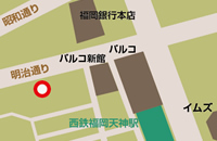松林景一美容クリニック天神 地図